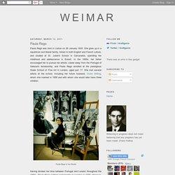 Weimar: Paula Rego