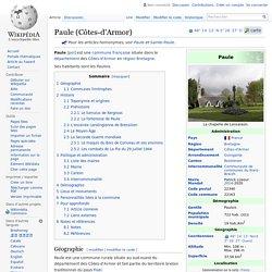 Paule (Côtes-d'Armor)