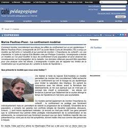 Marine Paulhiac-Pison : Le confinement modélisé