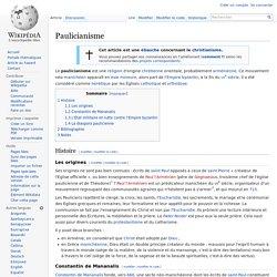 Paulicianisme