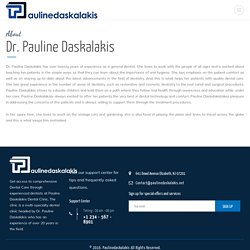 Pauline Daskalakis - Experienced Dentist
