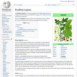 Paullinia cupana