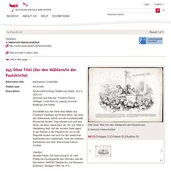 045 Ohne Titel (Vor den Wählern/In der Paulskirche) - Deutsche Digitale Bibliothek