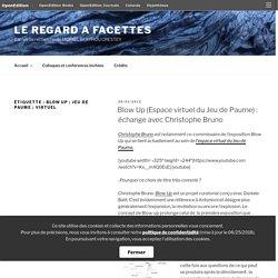 Blow Up ; Jeu de Paume ; virtuel – LE REGARD A FACETTES