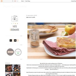 Pause Gourmande: Apple-cake à la poêle