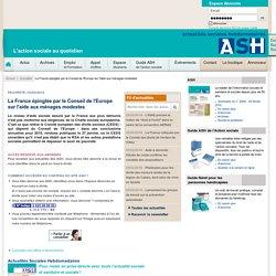 Pauvreté - La France épinglée par le Conseil de l'Europe sur l'aide aux ménages modestes