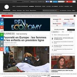 Pauvreté en Europe: les femmes et les enfants en première ligne
