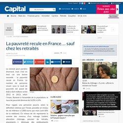 La pauvreté recule en France… sauf chez les retraités