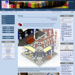 Pavage - FreeLUG : French Enthusiasts LEGO Users Group