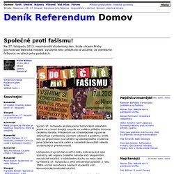 Pavel Baloun: Společně proti fašismu!