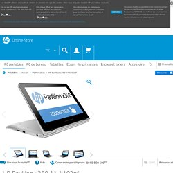 HP Pavilion x360 11-k103nf - HP Store France