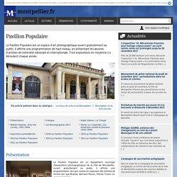 Les expos du pavillon populaire à Montpellier