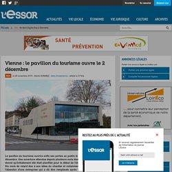 Vienne : le pavillon du tourisme ouvre le 2 décembre