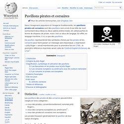 Pavillons pirates et corsaires