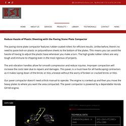Vibratory Paver Compactor