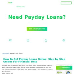 Payday Loans Online In USA - How To Get it 24/7 Step By Step Guide