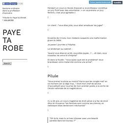 PAYE TA ROBE
