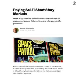 Paying Sci-Fi Short Story Markets: Websites That Pay to Publish Science Fiction
