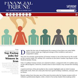 Top Paying Jobs for Women in Iran