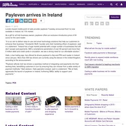 Payleven arrives in Ireland