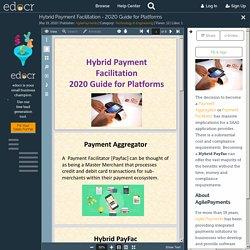 Hybrid Payment Facilitation - 2020 Guide for Platforms
