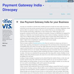 Payment Gateway India - Direcpay