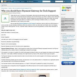 Why you should have Payment Gateway for Tech Support by Kdscard Pay