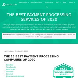 Best Payment Processing Services of 2020 - Digital.com