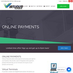 Online Payment Processing Vancouver, Online Credit Card Processing Canada