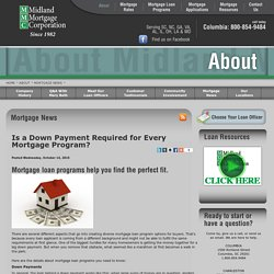 Is a Down Payment Required for Every Mortgage Program?
