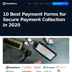 10 Best Payment Forms for Secure Payment Collection in 2020