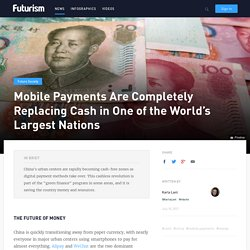 Mobile Payments Completely Replacing Cash in World's Largest Nations