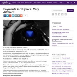 Payments in 10 years: Very different