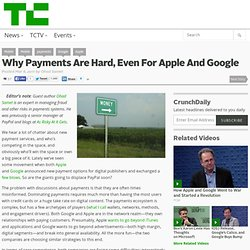 Why Payments Are Hard, Even For Apple And Google