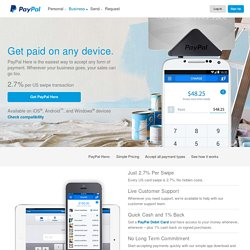 Here: Credit Card Reader | Mobile Credit Card Processing