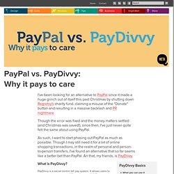 Paypal Vs Paydivvy