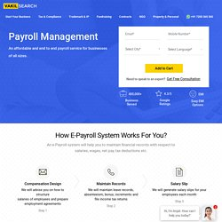 Online Payroll Management Service in India