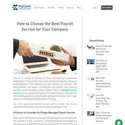 Best Payroll Service: How to Choose for Your Company