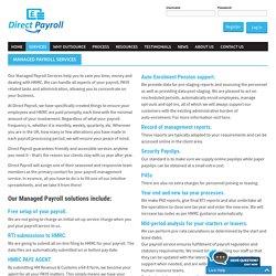 Payroll services Croydon