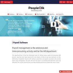 PeopleQlik Cloud Payroll Software Solutions in Indonesia