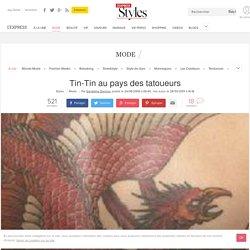 Tin-Tin au pays des tatoueurs