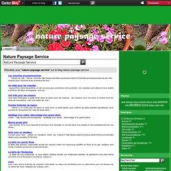 nature paysage service -