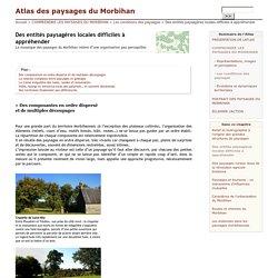 Des entités paysagères locales difficiles à appréhender - Atlas des paysages du Morbihan