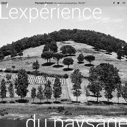 L'expérience du paysage