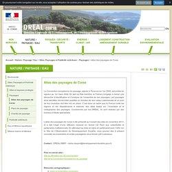 Atlas des paysages de Corse - Le portail Internet de la DREAL Corse