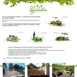 Paysagiste jardinier Dinan St-Malo St-Briac St-Jacust St-Lunaire CREATION amenagement jardin espaces verts parc