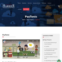 Paytonic Mobile Payment App Success Story - Harrier