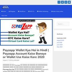 Payzapp Wallet Kya Hai In Hindi