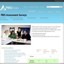PBIS Assessment Surveys