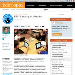 PBL: Jumping in Headfirst